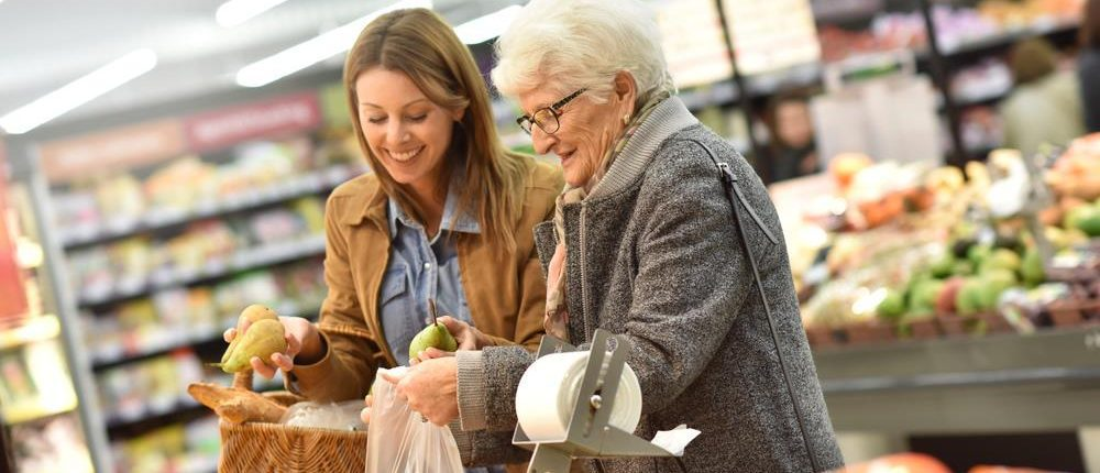 aged care Alzheimer's shopping